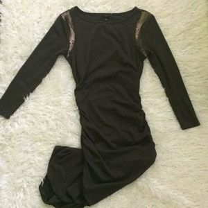 Ann Taylor Olive Green bodycon Dress